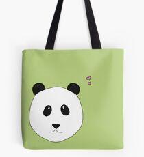 Pandalove in grün Tasche