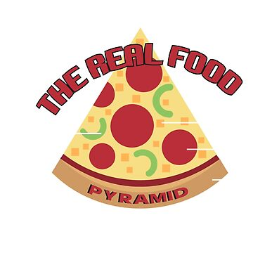 THE REAL FOOD PYRAMID  by Deepak1990