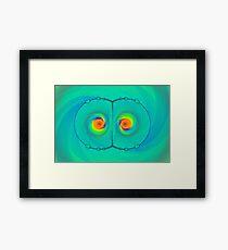 Psychedelic Eyes Framed Print