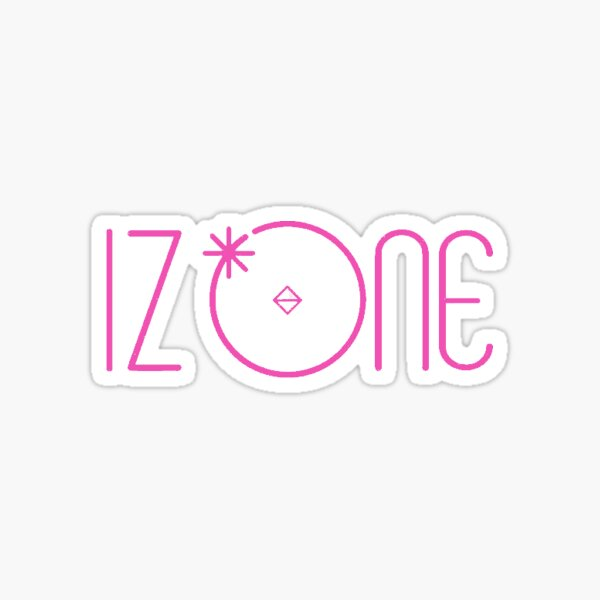 IZ*ONE IZONE PRODUCE 48 LOGO Sticker