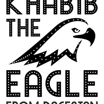 Khabib The Eagle From Dagestan - Khabib Time T Shirt by vicekingwear