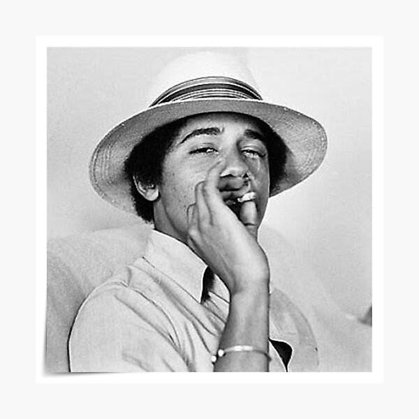 Young Obama Photographic Print