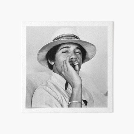 Young Obama Art Board Print