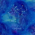 Constellation Sagittarius  by ShaMiLaB