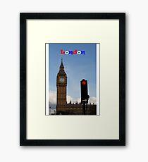 London England Framed Print