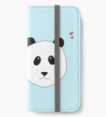 Pandalove - der Panda zum Verlieben iPhone Flip-Case/Hülle/Skin