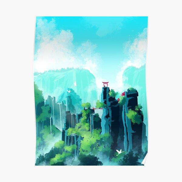Peak falls Poster