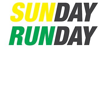 Sunday Runday by Diardo