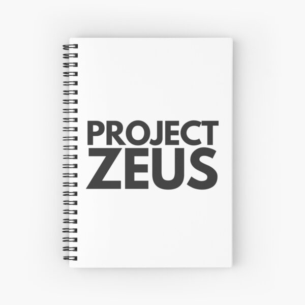 Project Zeus Peep Show Spiral Notebook