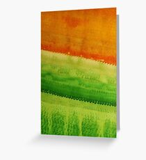 High Desert original painting Greeting Card