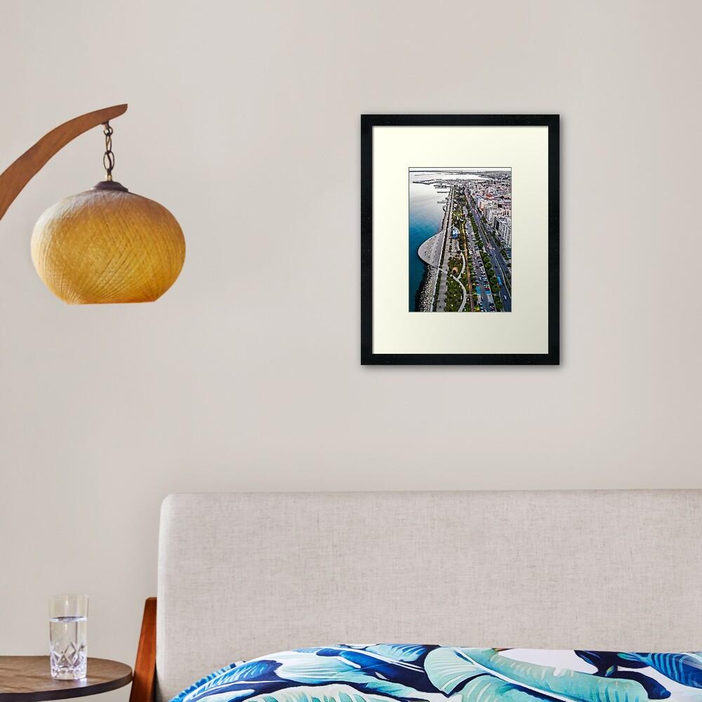 Beautiful Limassol Framed Art Print