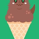 Ice Cream Dragon Brown by Big-Pasach