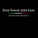 Slow Travel with Lisa (flag) WHITE by Diego-t