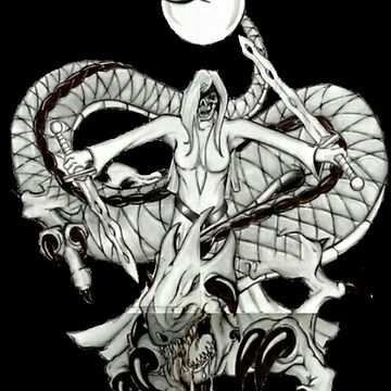 Lady Dragon Death Warrior  by ToddToomer