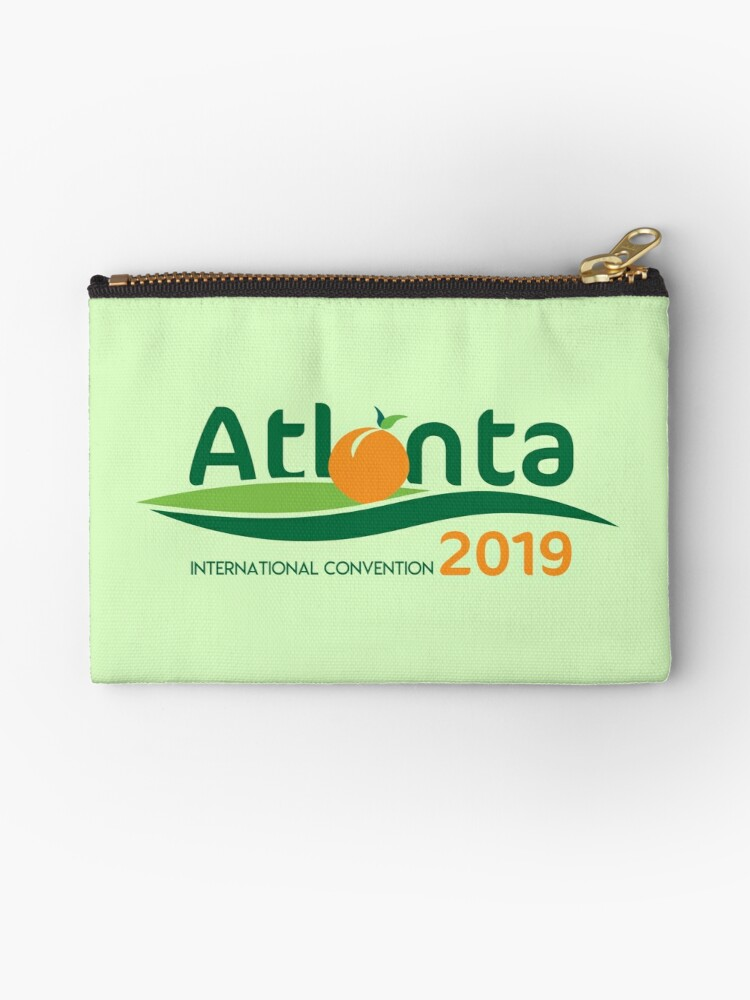 'Atlanta, Georgia - 2019 International Convention' Zipper Pouch by JW Stuff