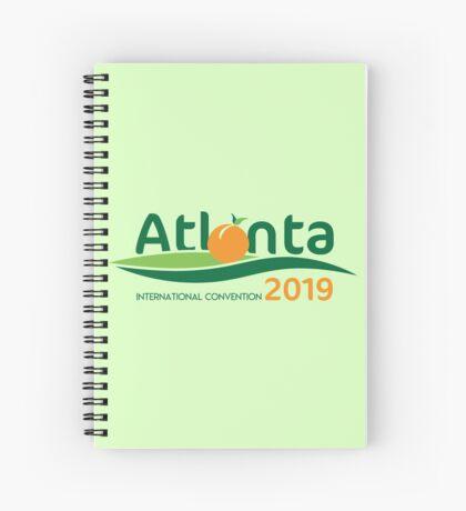 Atlanta, Georgia - 2019 International Convention Spiral Notebook