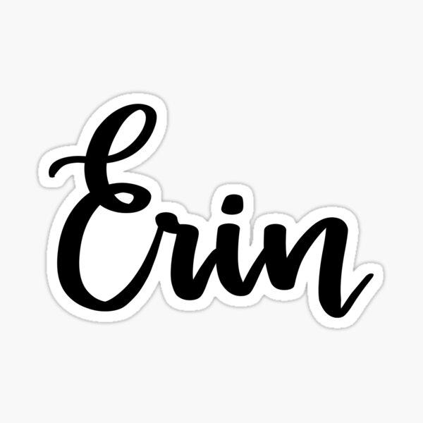 Erin Sticker