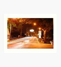 Lambertville-New Hope Bridge Art Print