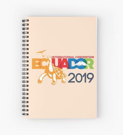 Guayaquil, Ecuador - 2019 International Convention Spiral Notebook