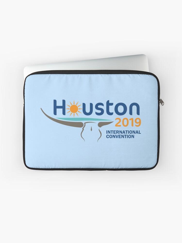 Houston, Texas - 2019 International Convention | Laptop Sleeve