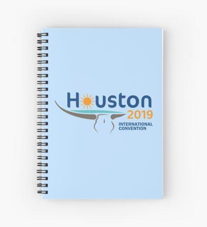 Houston, Texas - 2019 International Convention Spiral Notebook