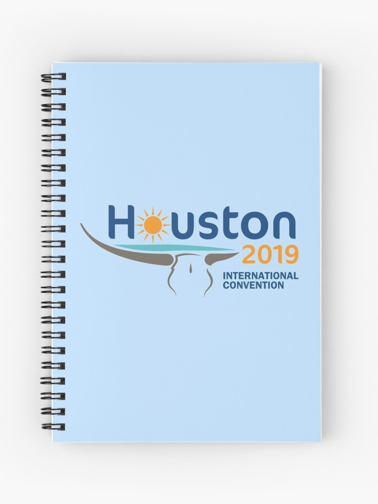 Houston, Texas - 2019 International Convention | Spiral Notebook