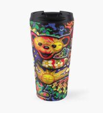 3d grateful dead dancing bears Travel Mug