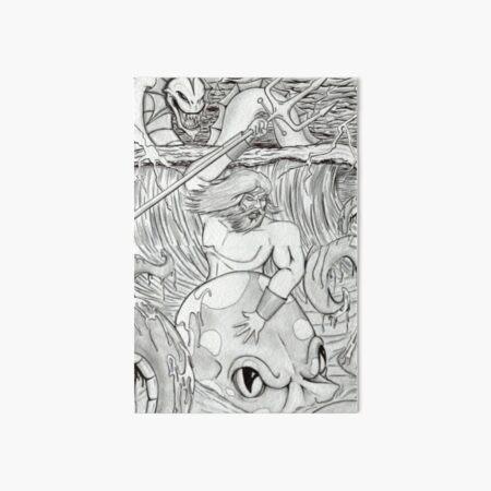 Posideon   Art Board Print
