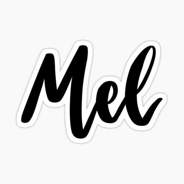 Mel Sticker