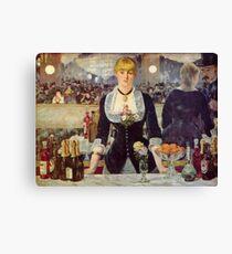 Edouard Manet, Paris France Famed Artist Canvas Print