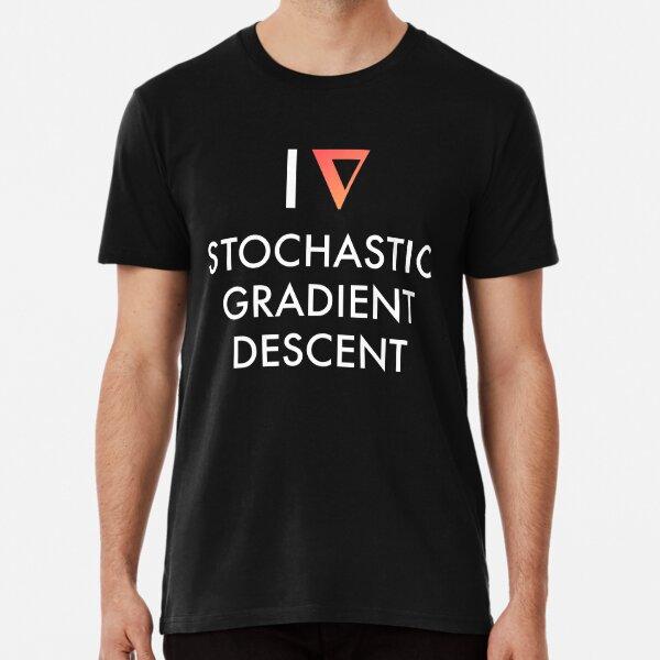 I Heart Stochastic Gradient Descent - Dark Premium T-Shirt