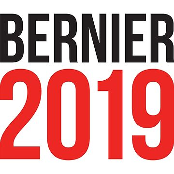 Maxime Bernier 2019 #BernierNation Canada Elections 2019 MCGA Make Canada Great Again white background by iresist