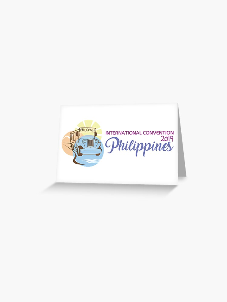 Manila, Philippines - 2019 International Convention | Greeting Card