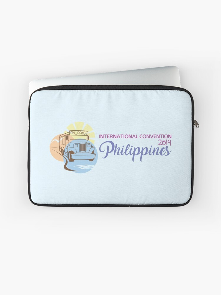 Manila, Philippines - 2019 International Convention | Laptop Sleeve