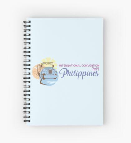Manila, Philippines - 2019 International Convention Spiral Notebook