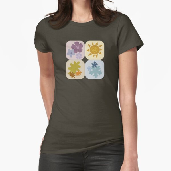 seasons, once again Fitted T-Shirt