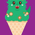 Ice Cream Dragon Green by Big-Pasach