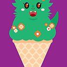 Ice Cream Dragon Green von Big-Pasach