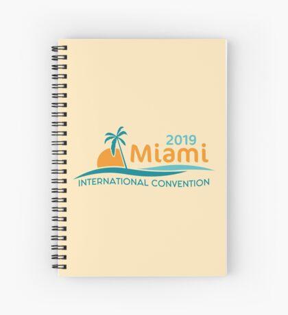 Miami, Florida - 2019 International Convention Spiral Notebook
