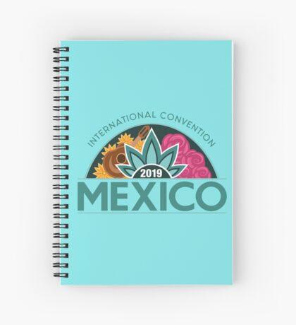 Monterrey, Mexico - 2019 International Convention Spiral Notebook