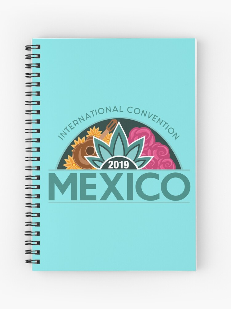 Monterrey, Mexico - 2019 International Convention | Spiral Notebook