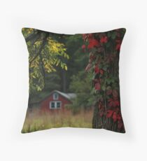 THE OLD CAMP Throw Pillow