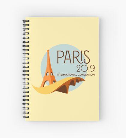 Paris, France - 2019 International Convention Spiral Notebook