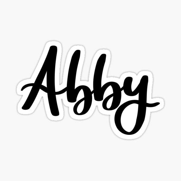 Abby Sticker