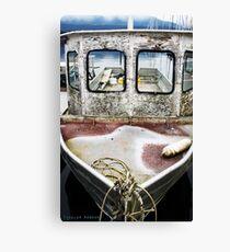 Weathered Vessel Canvas Print
