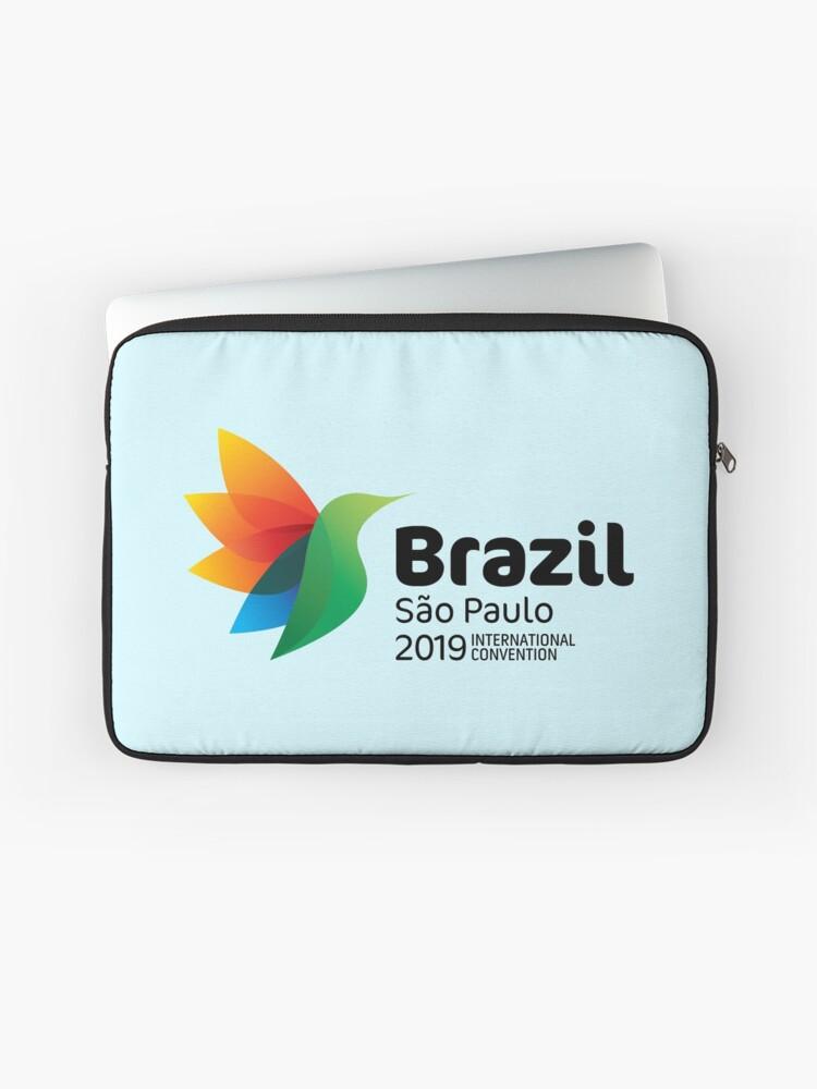 São Paulo, Brazil - 2019 International Convention | Laptop Sleeve