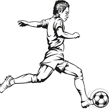 Football player in action by msjeje