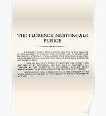Florence Nightingale Pledge Poster