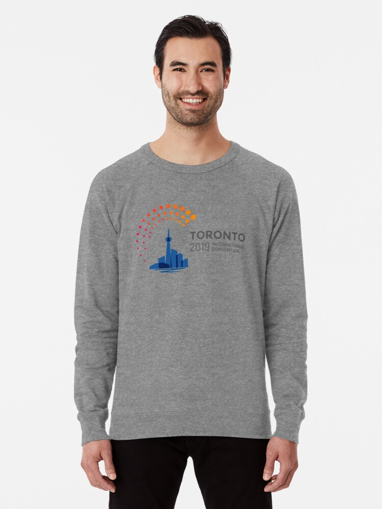 'Toronto, Canada - 2019 International Convention' Lightweight Sweatshirt by  JW Stuff