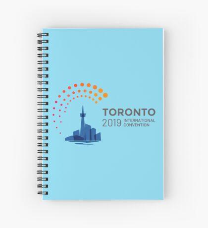 Toronto, Canada - 2019 International Convention Spiral Notebook